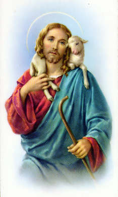 Jesus and His lost sheep.jpg (61030 bytes)